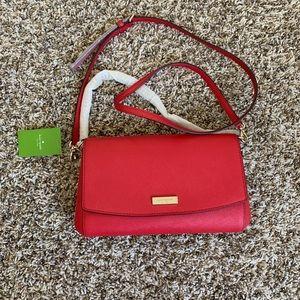 Beautiful red Kate spade purse